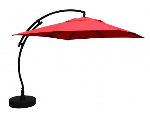 Sun Garden - Easy Sun parasol Vierkant zonder flappen - Olefin Terracotta doek
