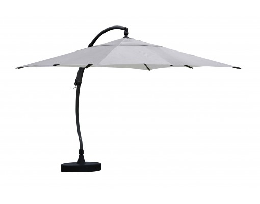 Sun Garden - Easy Sun zweefparasol 320 Vierkant zonder flappen - Olefin Titanium doek