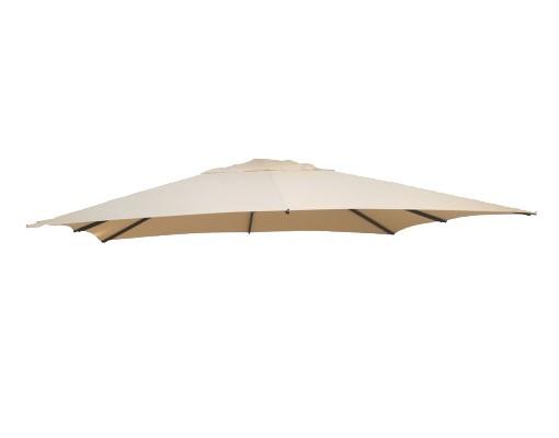 Polyester Beige vervangingsdoek voor Easy Sun parasol 320