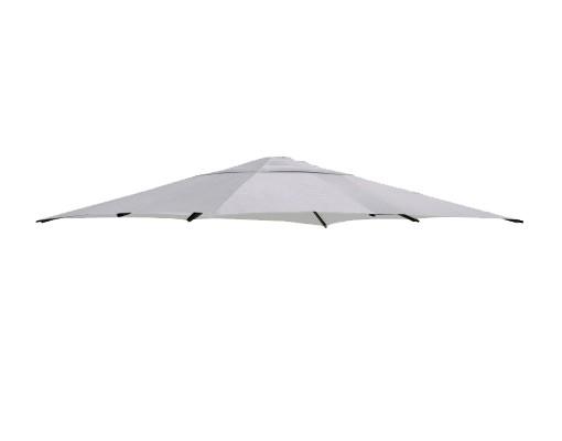 Polyester licht grijs vervangingsdoek voor Easy Sun parasol 320