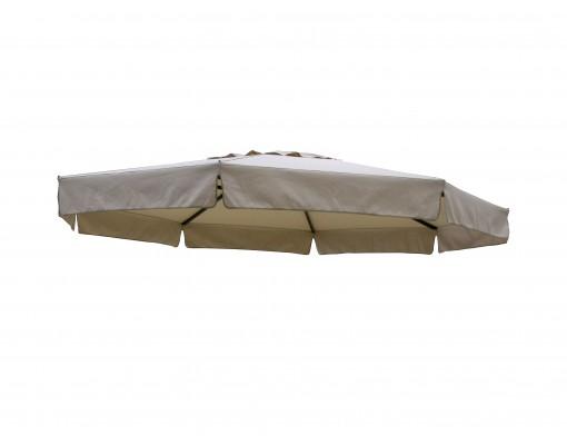 Olefin vervangingsdoek voor Easy Sun parasol 350, licht Taupe