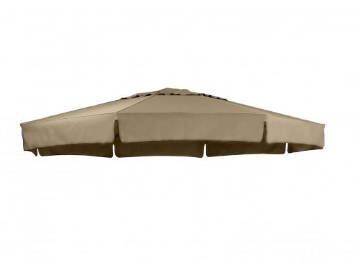 Olefin Taupe vervangingsdoek voor Easy Sun parasol 350