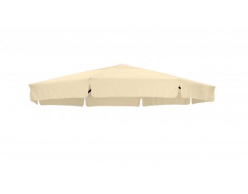 Polyester Beige vervangingsdoek voor Easy Sun parasol 350