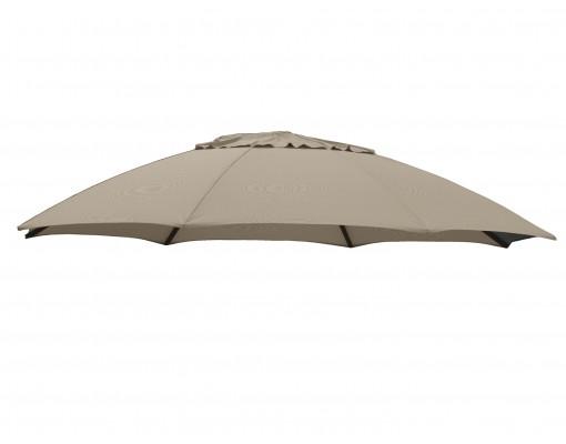 Olefin vervangingsdoek voor Easy Sun parasol 375, licht Taupe