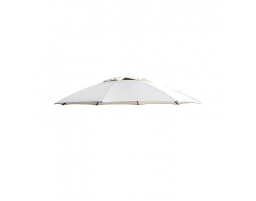 Polyester Beige vervangingsdoek voor Easy Sun parasol 375