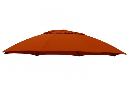 Polyester Terracotta vervangingsdoek voor Easy Sun parasol 375