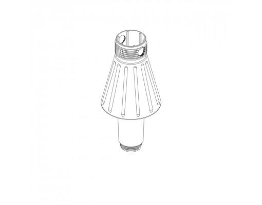 Standaard voetkegel (wit) voor Easy Sun parasol