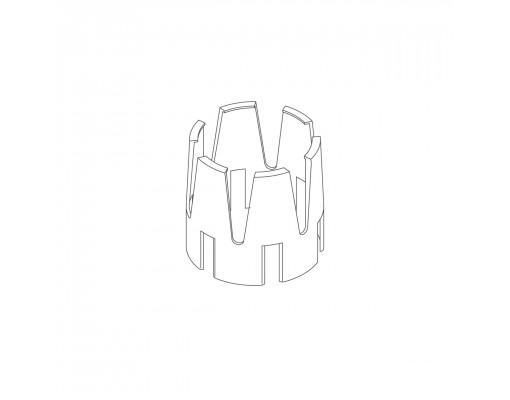 Witte reductie-koppeling voor Easy Sun - Sun Garden parasol