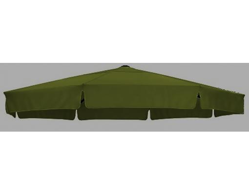 Polyester Donkergroen vervangingsdoek voor Easy Sun parasol 350